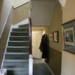 new stairway as part of a renovation project
