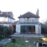 extension on a home